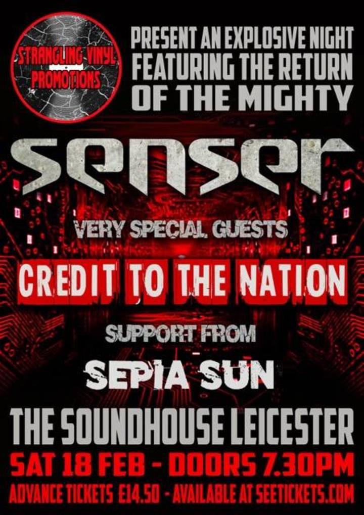 Senser @ Soundhouse Leicester - Leicester, United Kingdom