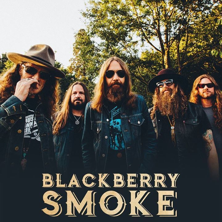 Blackberry Smoke @ Pustervik - Göteborg, Sweden