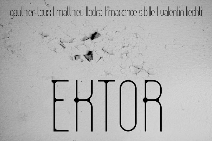 Matthieu Llodra @ @ Chat Noir w/ EKTOR - Geneve, Switzerland