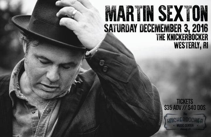 Martin Sexton @ The Knickerbocker - Westerly, RI