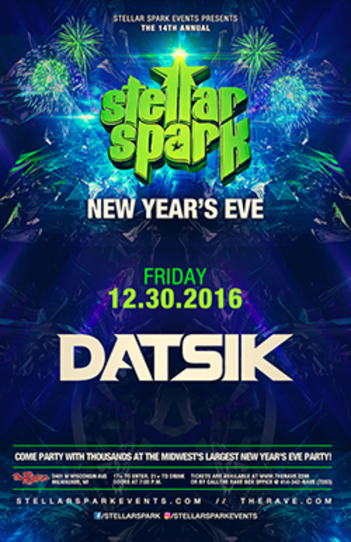 Datsik @ The Rave / Eagles Club - Milwaukee, WI