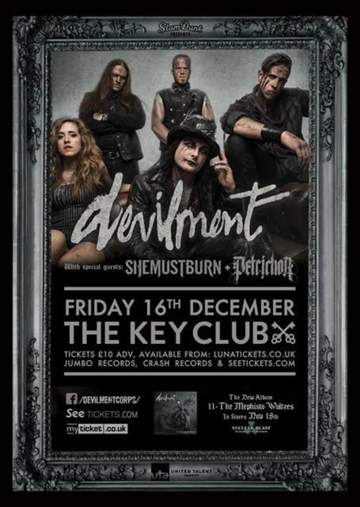 Petrichor (UK) @ Key Club - Leeds, United Kingdom