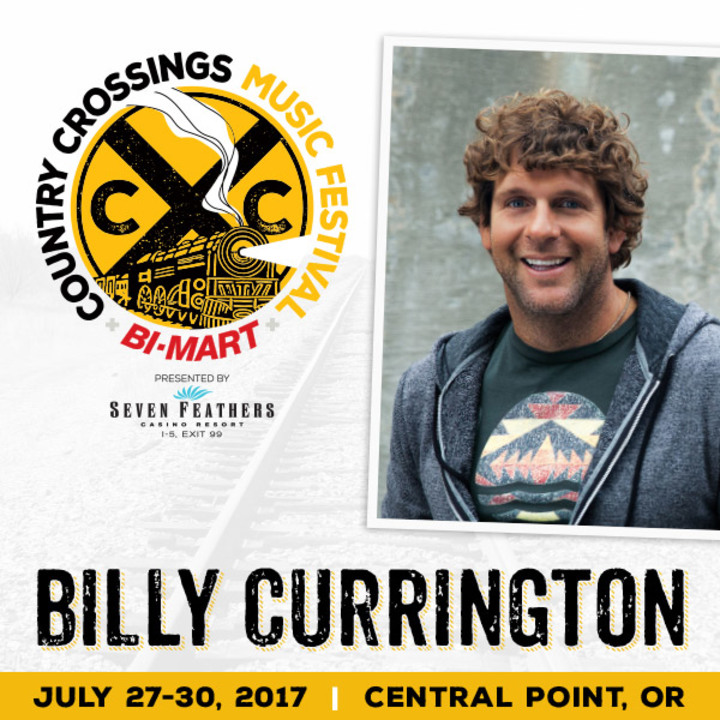 Billy Currington @ Country Crossings Music Festival - Central Point, OR