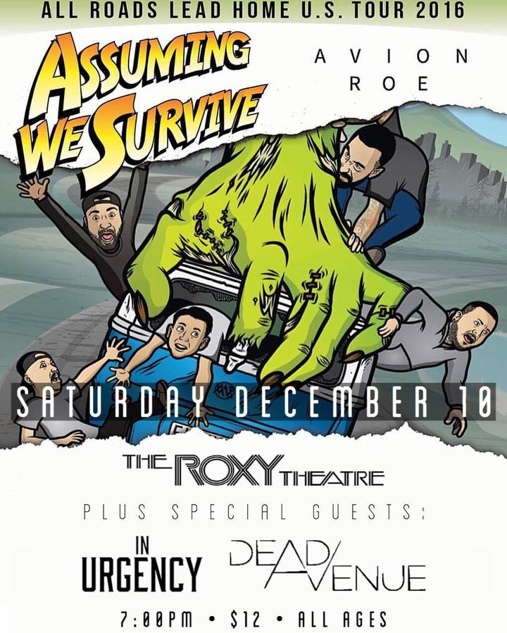 In Urgency @ The Roxy Theatre - West Hollywood, CA