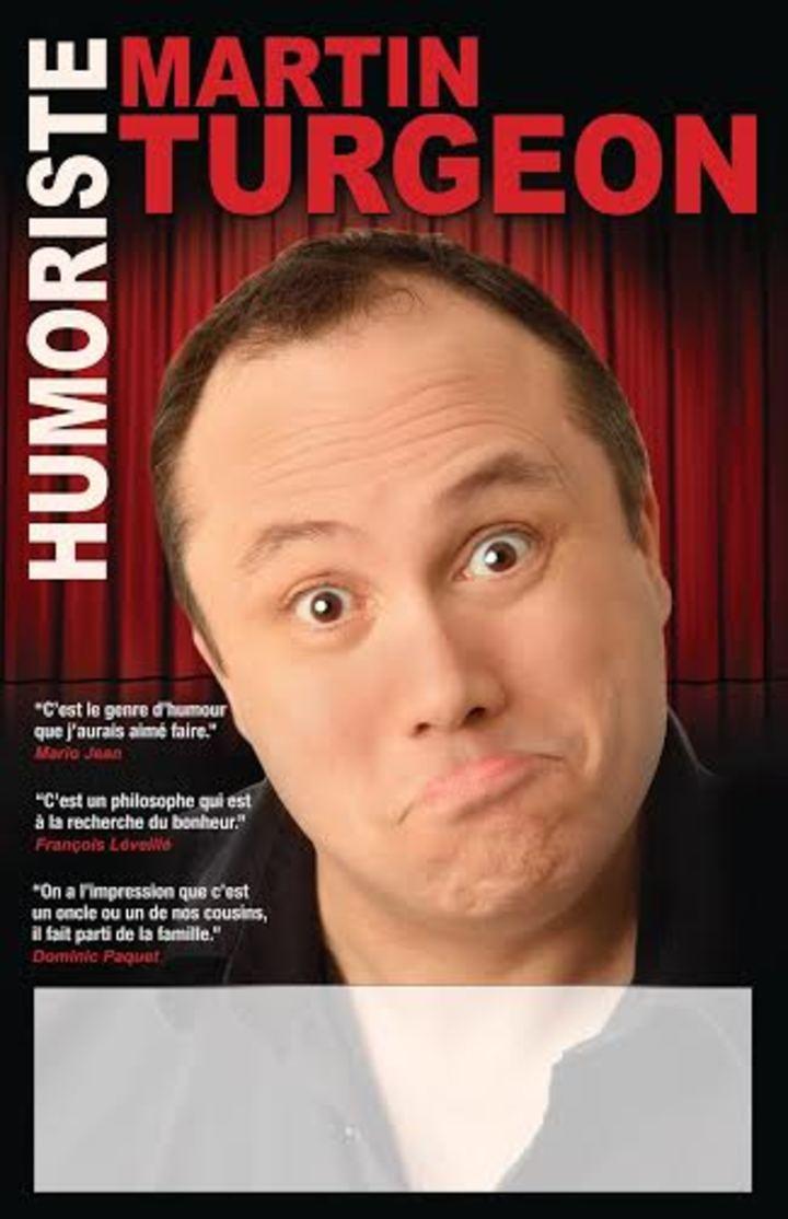 Martin Turgeon humoriste @ OBC - Baie-Comeau, Canada