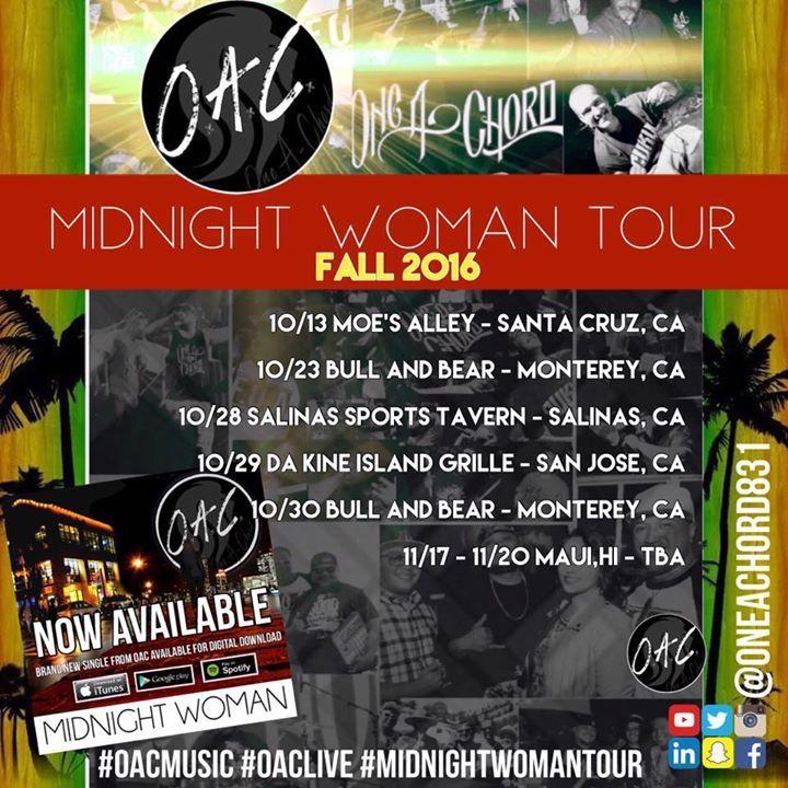 One A-Chord Tour Dates
