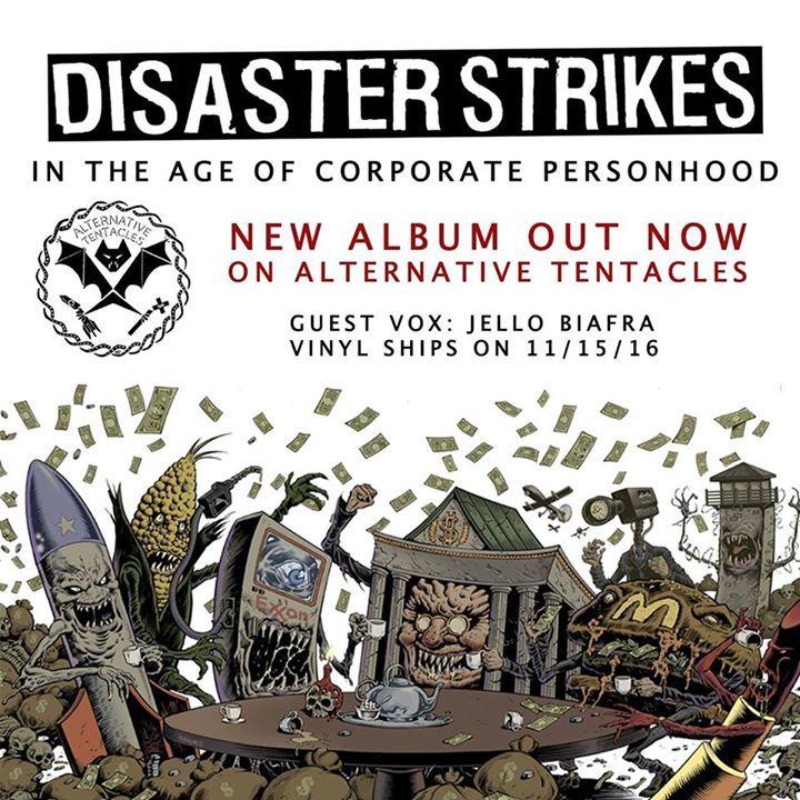 Disaster Strikes Tour Dates