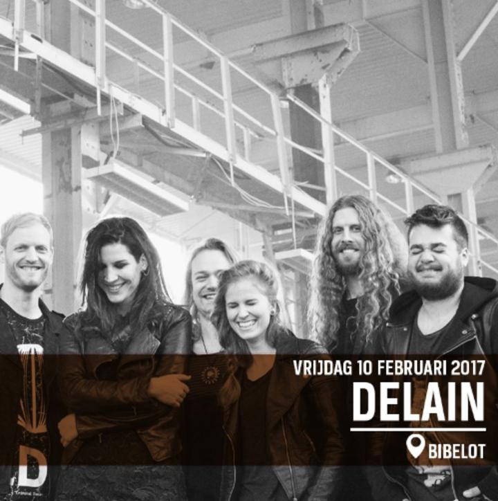 Delain @ Bibelot  - Dordrecht, Netherlands