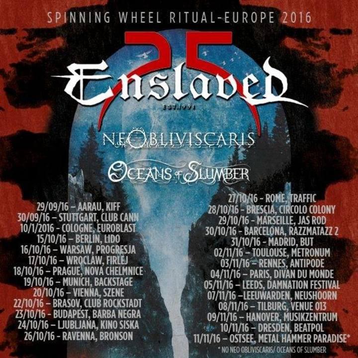 Enslaved Tour Dates