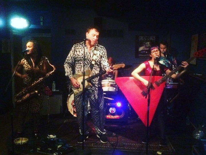 Red Elvises @ Luckey's - 933 Olive St. - Eugene, OR