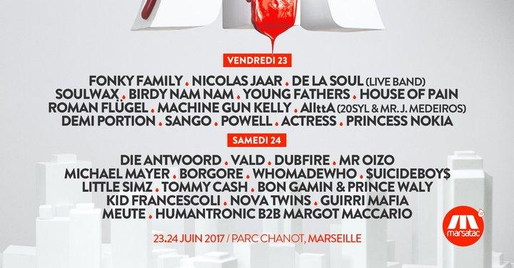 LES SOIRÉES DU SUD @ Marsatac Festival 2017 - Marseille, France
