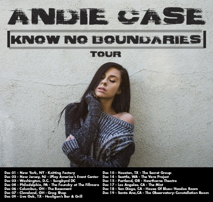 Andie Case Tour Dates