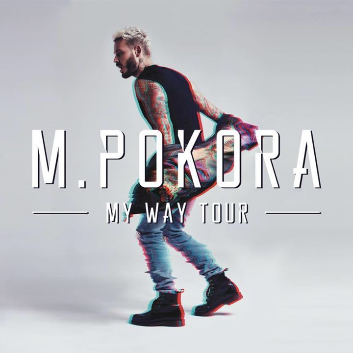M Pokora @ Palais des Sports de Grenoble - Grenoble, France