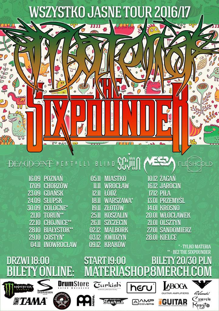The Sixpounder @ Eletrownia - Zagan, Poland
