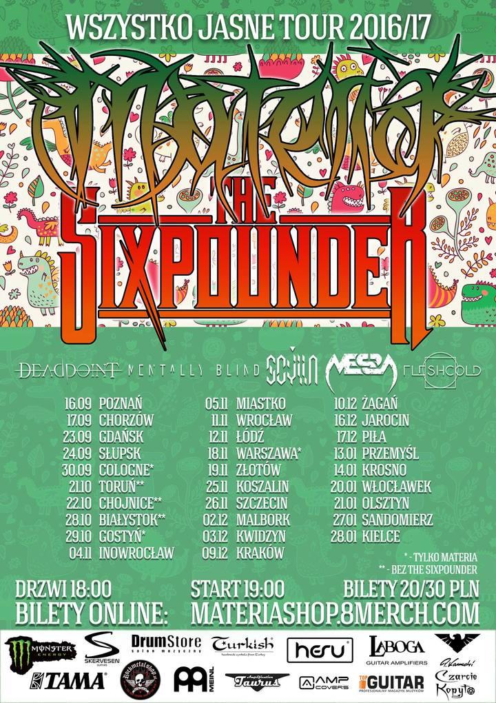 The Sixpounder @ Rock Klub IRON - Krosno, Poland