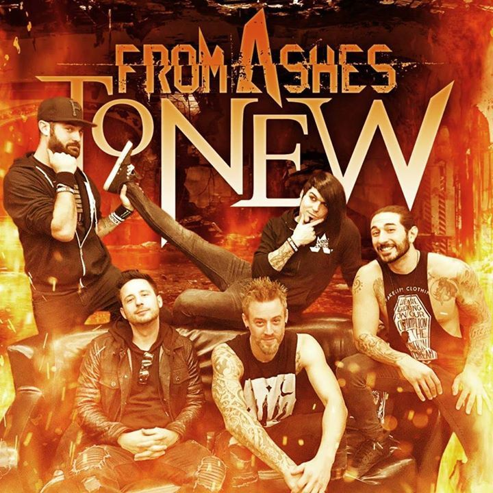 From Ashes to New @ MacEwan Hall - Calgary, Canada