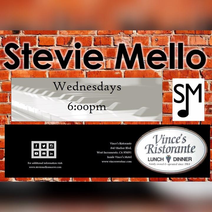 Stevie Mello @ Vince's Ristaurant - Sacramento, CA