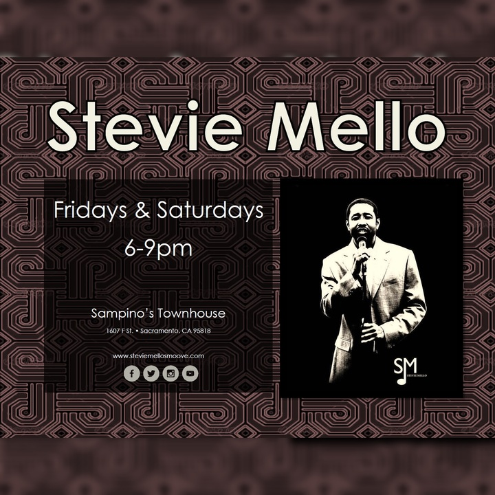 Stevie Mello @ Sampino's Restaurant  - Sacramento, CA