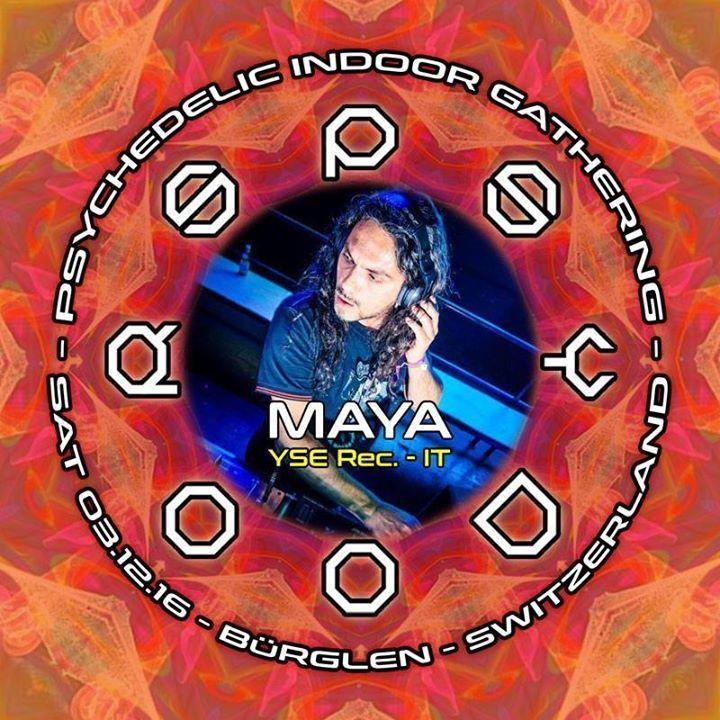 Maya Tour Dates