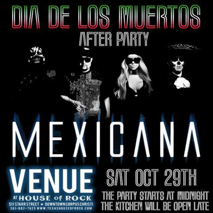 MEXICANA Tour Dates