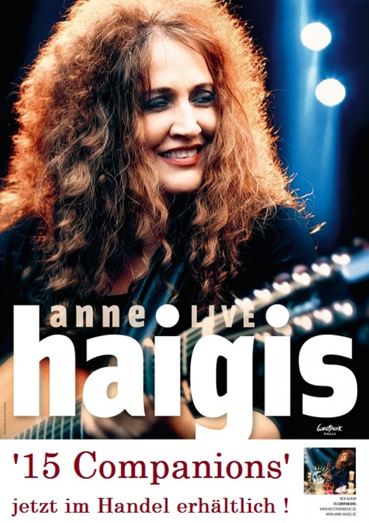Anne Haigis official @ Harmonie - Bonn, Germany