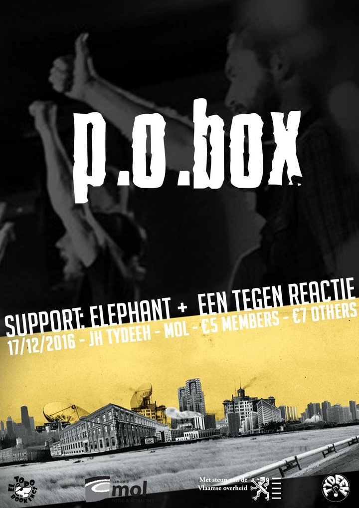P.O.BOX @ Jh Tydeeh - Mol (Bel), Belgium