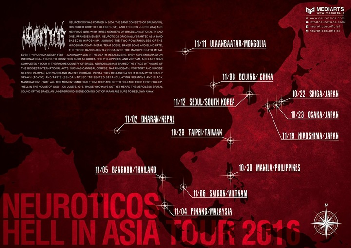 Neuroticos Tour Dates