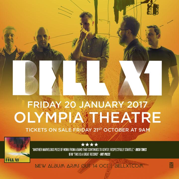 Bell X1 @ Olympia Theatre - Dublin, Ireland