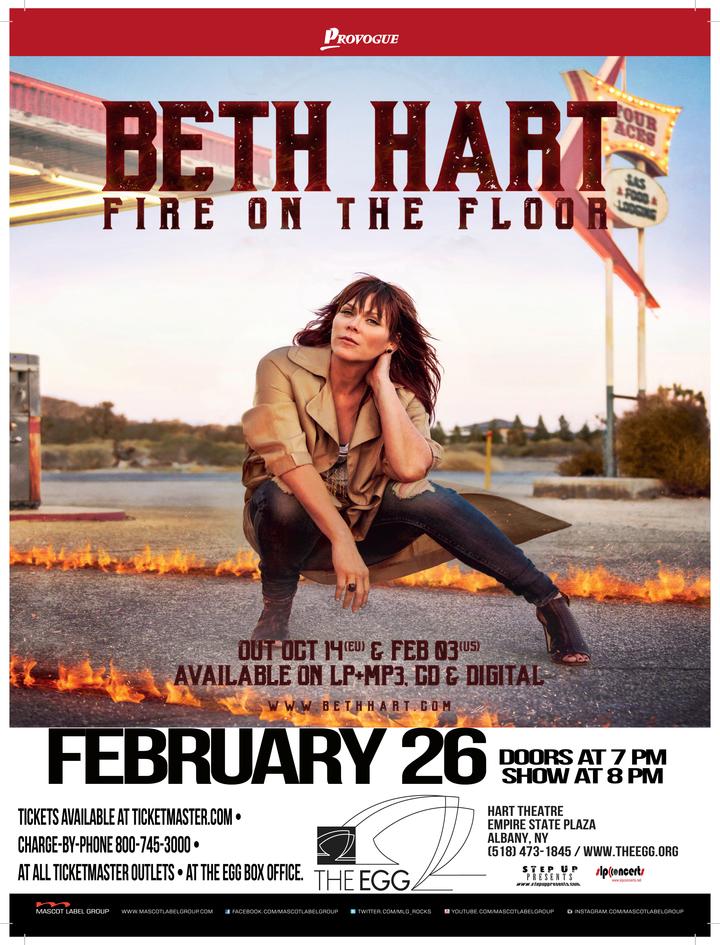 Beth Hart @ The Egg - Albany, NY