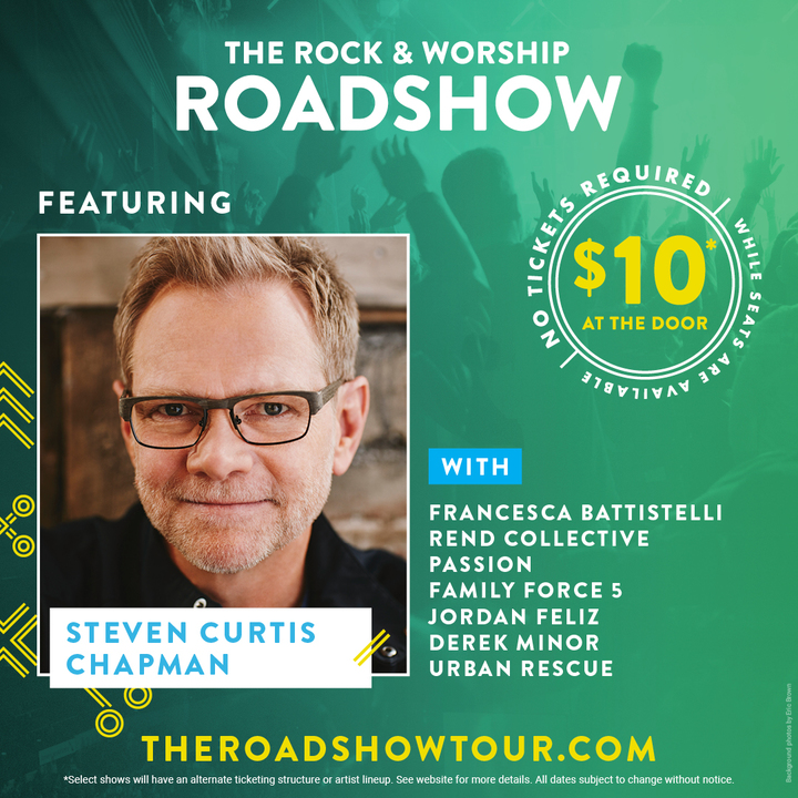 Steven Curtis Chapman @ Save Mart Center - Fresno, CA