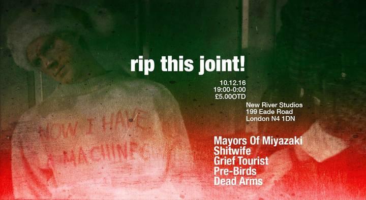 Dead Arms @ New River Studios - London, United Kingdom