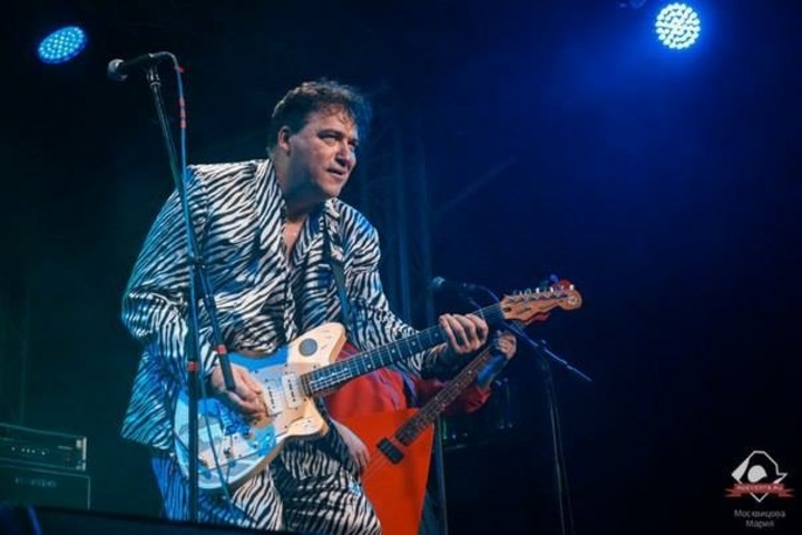 Red Elvises @ Volta Club - Moscow, Russian Federation