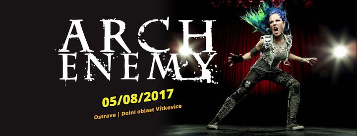Arch Enemy @ Ostrava V Plamenech - Ostrava, Czech Republic