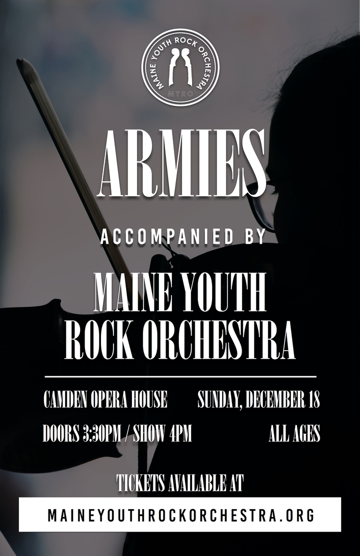 Maine Youth Rock Orchestra @ Camden Opera House - Camden, ME