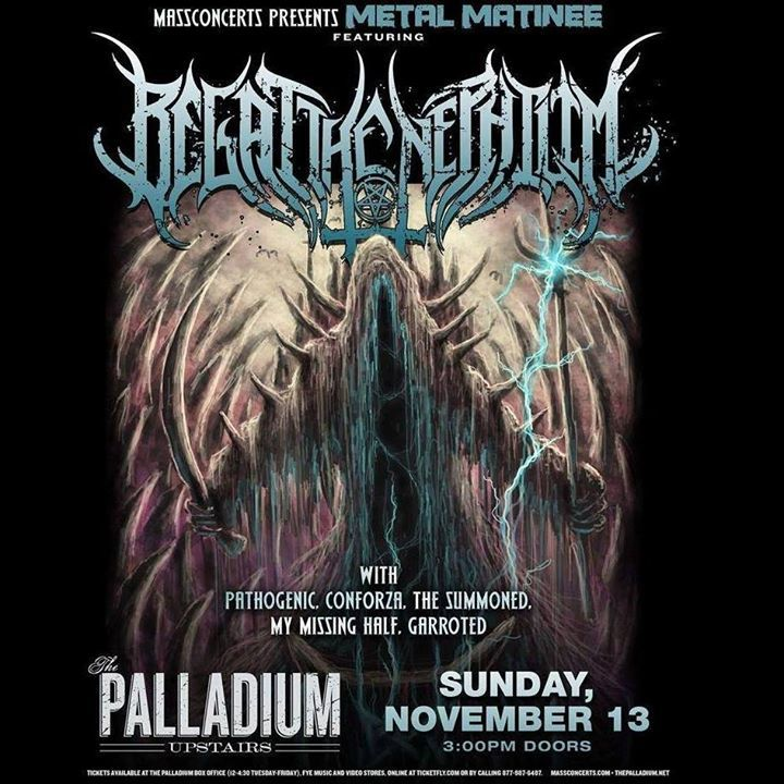 Begat The Nephilim Tour Dates