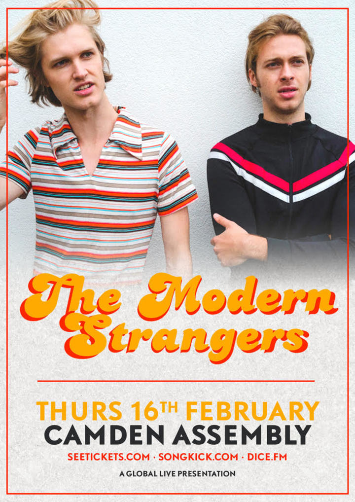 The Modern Strangers @ The Camden Assembly - London, United Kingdom