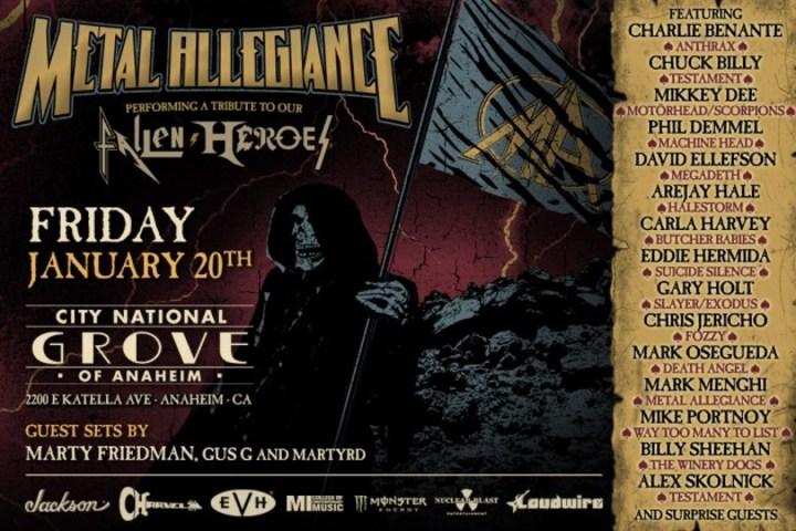 Metal Allegiance @ City National Grove Of Anaheim - Anaheim, CA