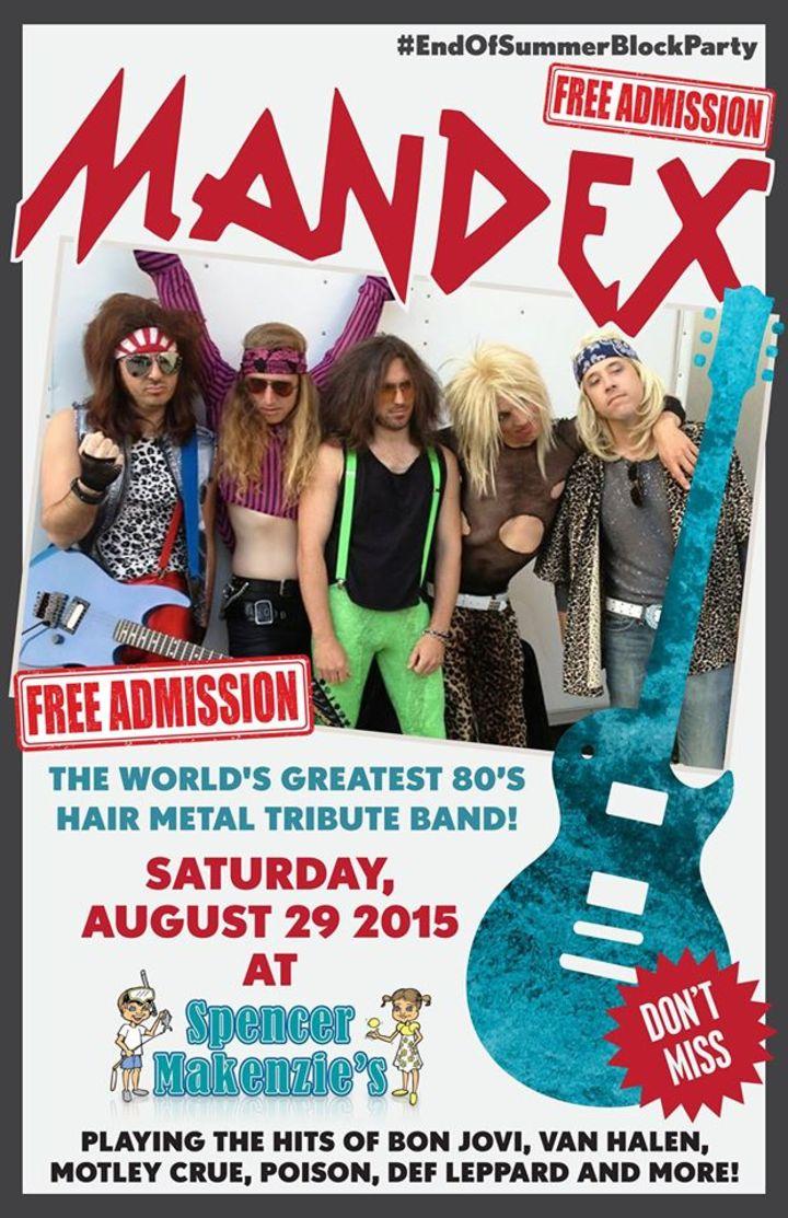 Mandex Tour Dates