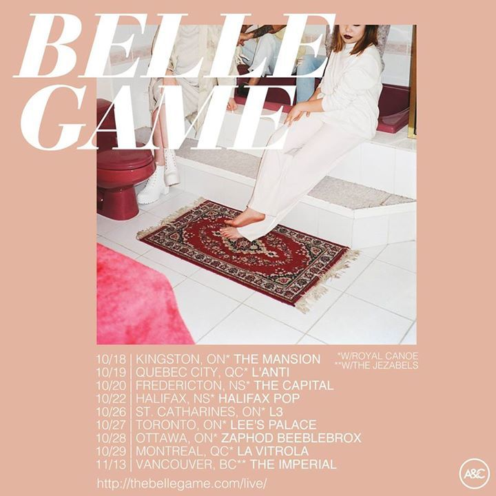 The Belle Game Tour Dates