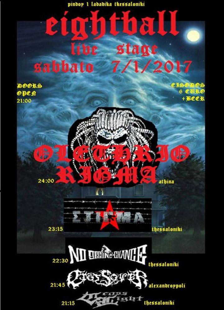 Olethrio Rigma 2 Tour Dates