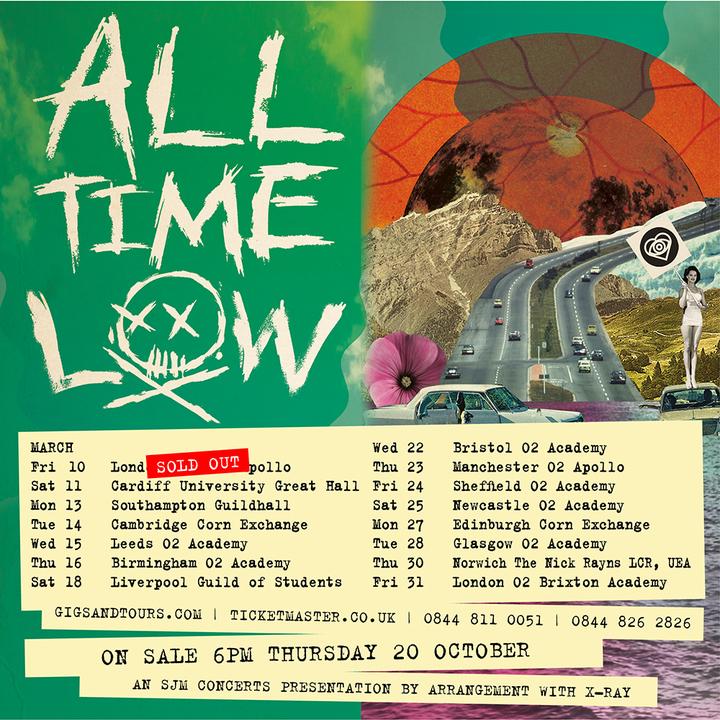 All Time Low @ O2 Academy - Newcastle Upon Tyne, United Kingdom