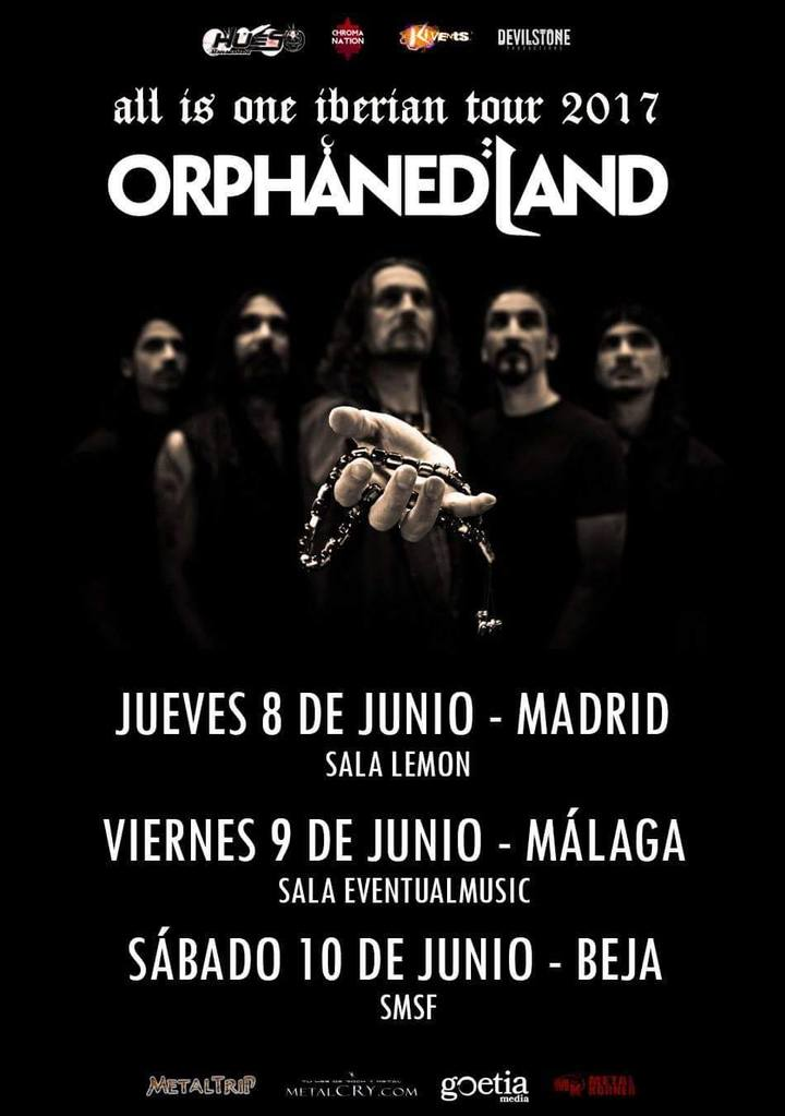 Orphaned Land @ Sala Lemon Concert hall - Madrid, Spain