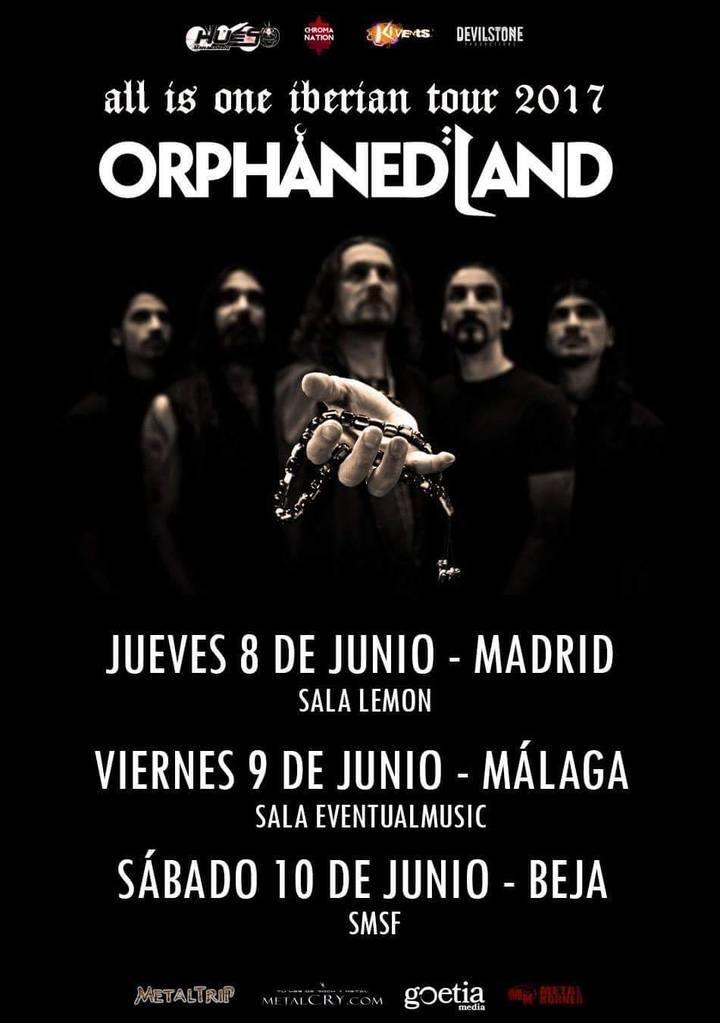 Orphaned Land @ Sala Eventual Music - Málaga, Spain