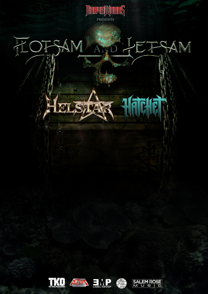 Flotsam and Jetsam Official @ Ayers Event Center - Corpus Christi, TX