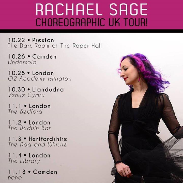 Rachael Sage Tour Dates