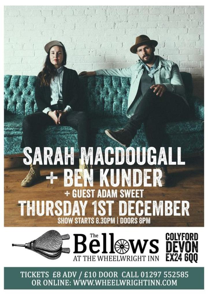 Sarah MacDougall @ The Bellows @ The Wheelwright Inn - Colyford, United Kingdom