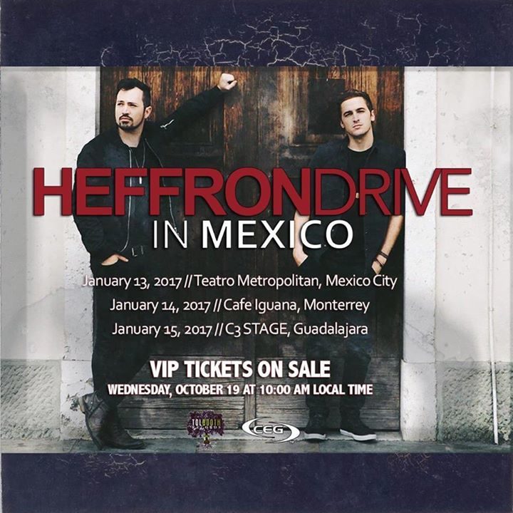 Heffron Drive Tour Dates