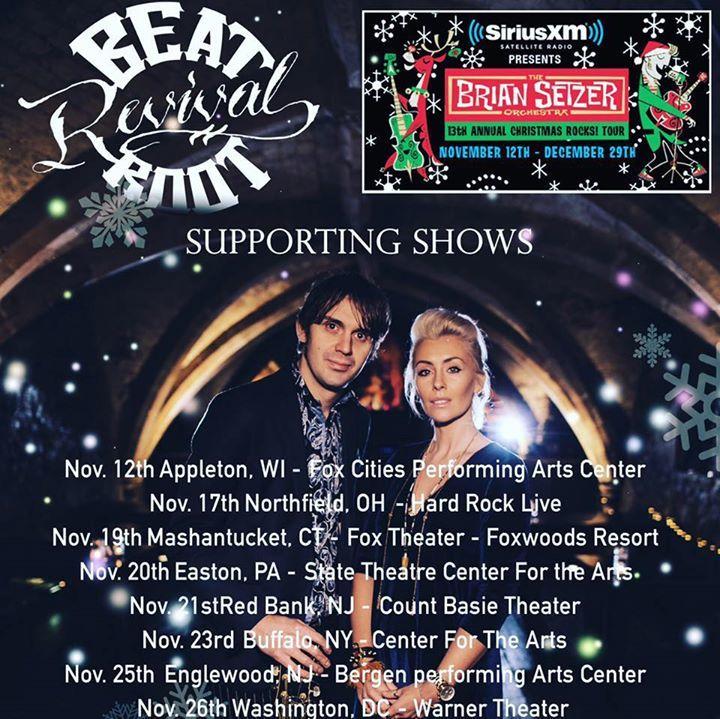 Beat Root Revival Tour Dates