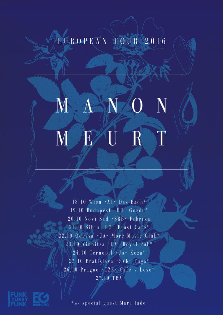 Manon meurt Tour Dates