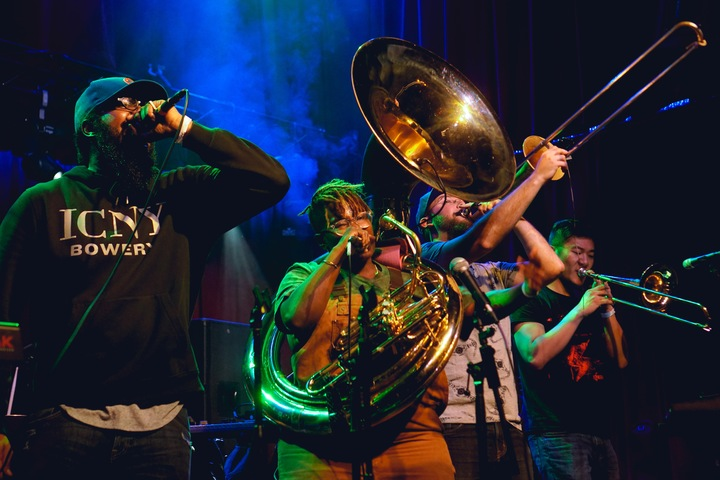 PitchBlak Brass Band Tour Dates